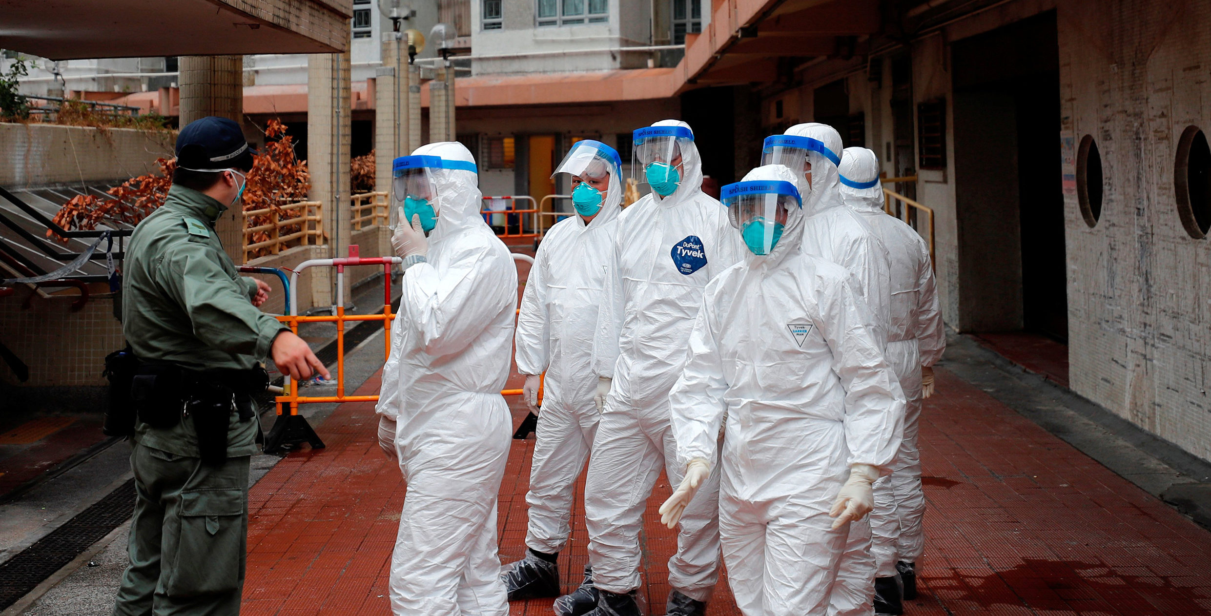 450,000 protective TYVEK suits landed in Dallas, Texas from Vietnam!